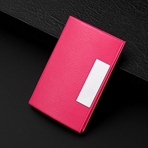 Business Name Card Case,Kangma Creative Flip Style Holder Cards ID Portable Travel with Magnetic Shut