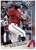 2017 Topps Now #101 Daniel Descalso Diamondbacks: Walk-Off Pool Shot HR