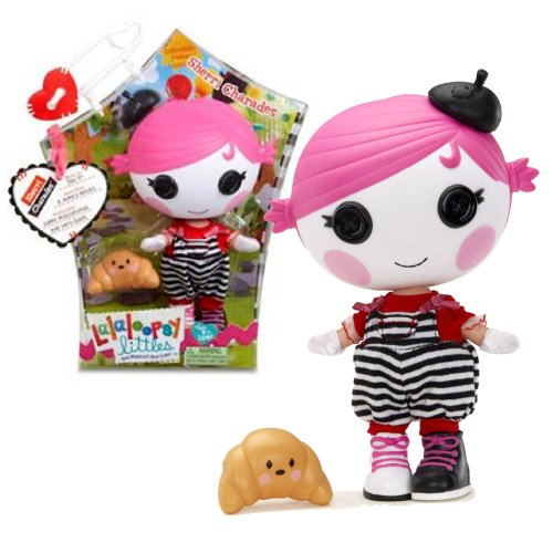"""MGA Entertainment Lalaloopsy """"Sew Magical! Sew Cute!"""" 7-1/2 Inch Tall Button Doll - Sherri Charades with Pet """"Croissant"""" Plus Bonus Poster Inside"""