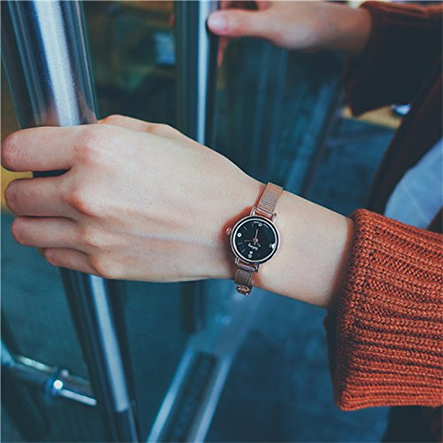 Generic Girls high school students watch small fresh Beautiful chain table Korean simple retro College Wind Bracelet Watch
