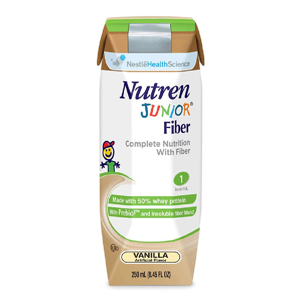 Nutren Junior with Fiber, Nutren Jr W-Fiber Van 250ml, (1 CASE