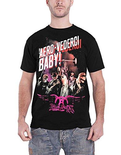 2017 Aero Vederci Aerosmith Tour Nouveau Officiel Homme Euro Shirt Baby Noir T xwqxnCS0a