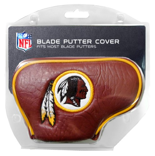 (Team Golf NFL Washington Redskins Golf Club Blade Putter Headcover, Fits Most Blade Putters, Scotty Cameron, Taylormade, Odyssey, Titleist, Ping, Callaway)
