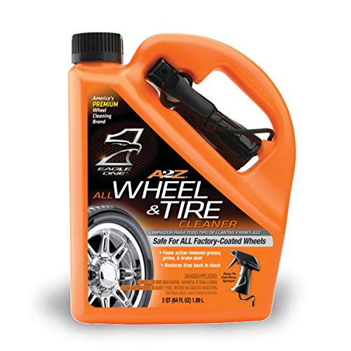 Eagle One E300890900 64 oz. Removes Grease, Grime, Brake Dust - Safe for All Factory-Coated Wheels (Best Alloy Wheel Cleaner)