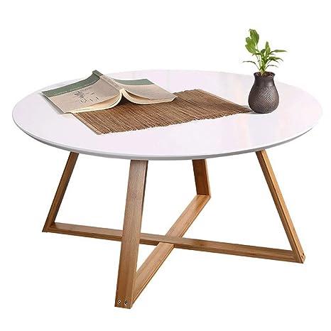 Amazon.com: Xing Hua Shop - Mesa redonda pequeña con mesa de ...