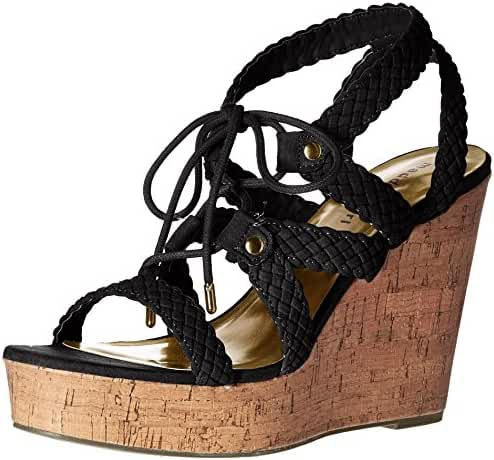 Madden Girl Women's Emboss-c Wedge Sandal