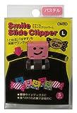 fan binder clip - Ohto Smile Slide Clipper Paper Clip - Large - Pastel Color Set - Pack of 5