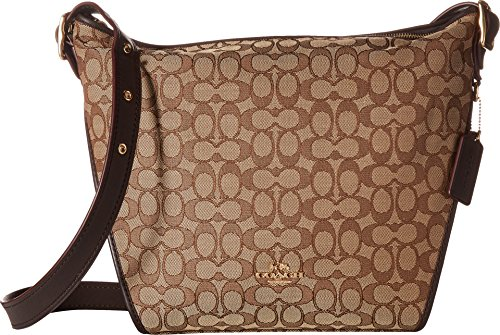 COACH Women's Dufflette in Signature Li/Khaki/Brown One Size