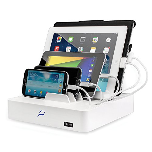 MobileVision Charging Station for Smartphones and Tablets with Powermod Quick Charge 2.0 technology by MobileVision