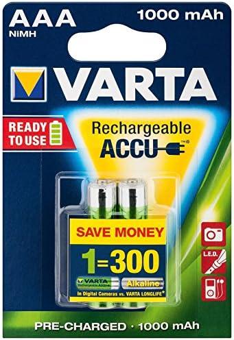 Varta Professional Accu 5703 Akku Ni Mh Mikro 1 2v Elektronik