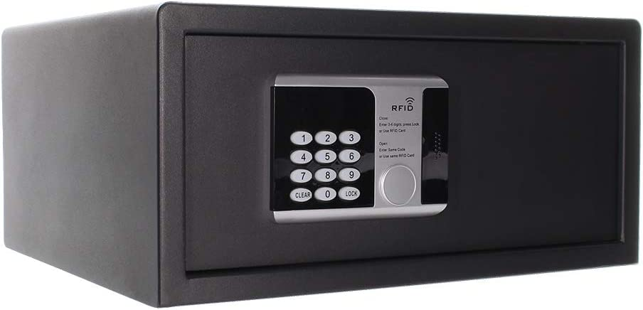Profirst - Caja Fuerte con 2 cerraduras RFID, Ideal para hoteles o ...