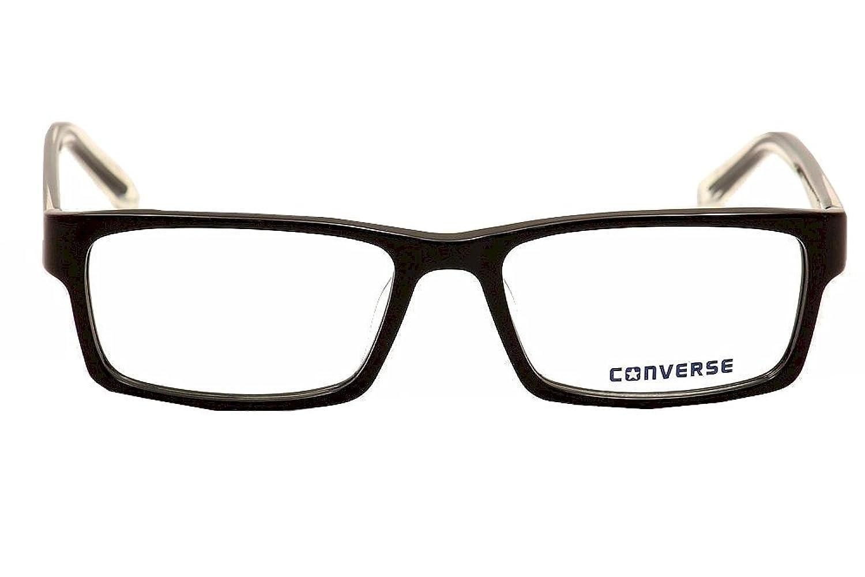 Amazon.com: Converse Eyeglasses Q041 Q/041 Black Fashion Full Rim ...