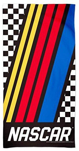(NASCAR Beach Towel with Premium Spectra Graphics 30x60)