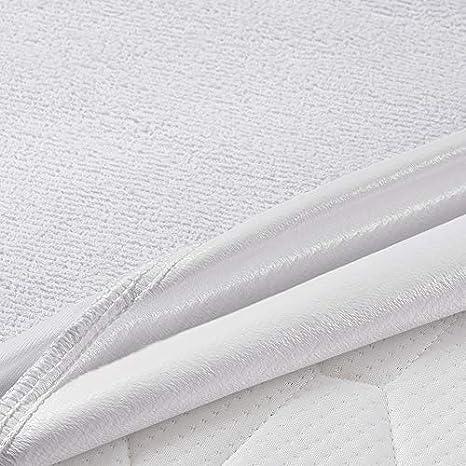 Essentials 60 x 120 cm Umi Wasserdichter und Atmungsaktiver Matratzenschoner, Baumwolle Oeko-TEX/® Standard 100