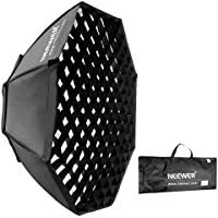 Neewer 37/95cm Beehive Octagon Umbrella Speedlite Softbox for Nikon, Canon, Sony, Pentax, Olympus, Panasonic Lumix Flash Light, with Bowens Mount Speedring