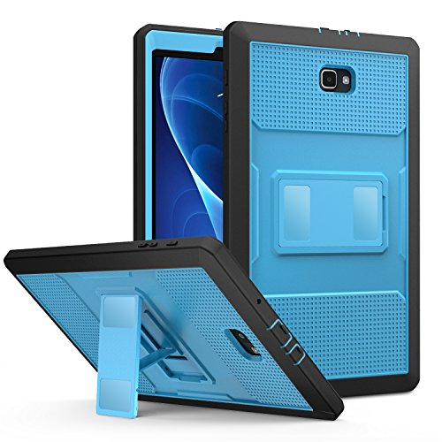 MoKo Samsung Galaxy Tab A 10.1 Case - [Heavy Duty] Full Body Rugged Cover with Built-in Screen Protector for Samsung Tab A 10.1