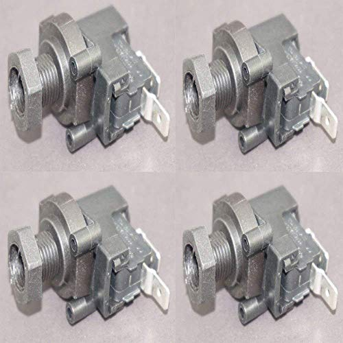 (pack of 4) - Pressure Switch for Spa/Hot Tub Bath Pump and Food garbage Waste Garbage Disposal pneumatic Switch,Heater pressure Switch Air Switch
