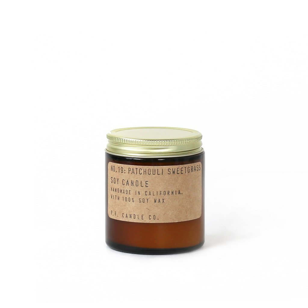 Candle Patchouli Sweetgrass 3.5 Ounce Pf Candle Co