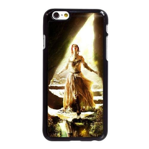 N9Z97 alice in wonderland I2J4DC coque iPhone 6 4.7 pouces cas de couverture de téléphone portable coque noire RV3UHJ5QM