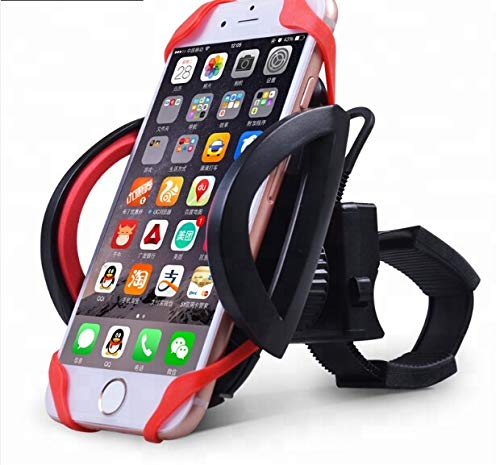 Cell Phone Holder Mount for Golf Cart, Bike, Motorcycle, and Boat Fits iPhone Xs, XR, 8 | 8 Plus, 7 | 7 Plus, iPhone 6s | 6s Plus, Galaxy, S10+, S9, S8, S7, Holds Phones Up to 4