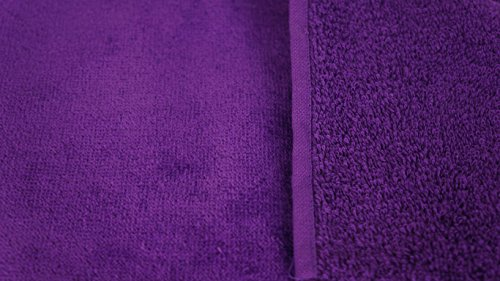 Corner4Shop Large 100% Turkish Cotton Ultra Soft Terry Velour Beach Towel Spa Bath Pool by (1, Purple) by Corner4Shop (Image #3)