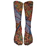 Dragonflies Unisex Nursing Travel Sport High Socks Cotton Dress Sock 15.7 Inch