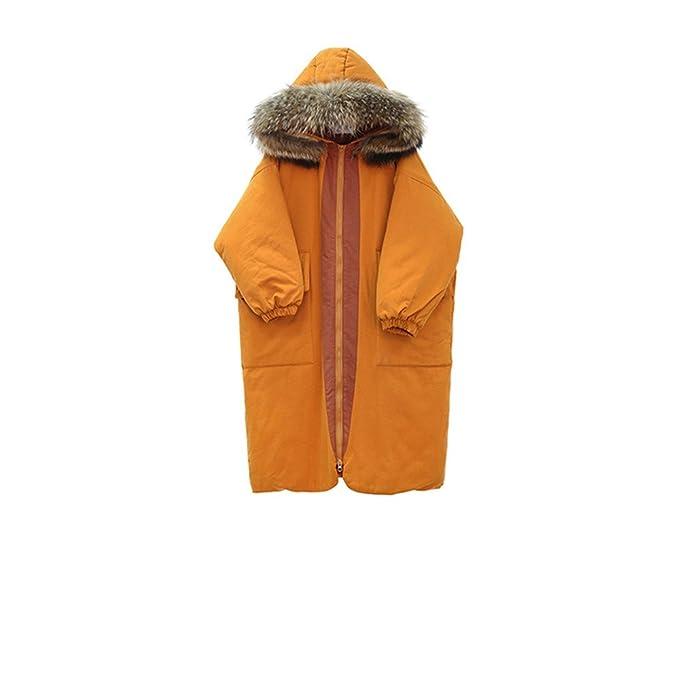 El largo invierno abrigos, camisa de algodón algodón chaqueta vestido de mujer ,L,