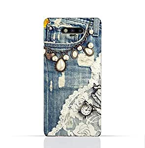 Huawei Honor Magic TPU Silicone Case With Modern Jeans Pattern