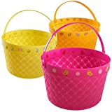 Prextex Easter Eggs Basket Great for Easter Egg Hunts and Easter Eggs Festival