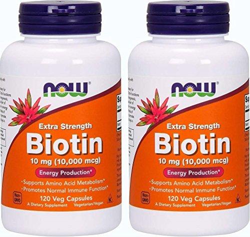 Foods Biotin Extra Strength Vcaps
