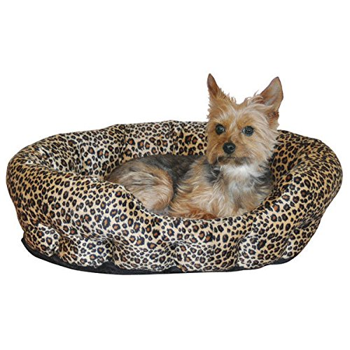 Self Warming Nuzzle Nest for Dog & Cat Bed - extra warmth without electricity(Brown (Nuzzle Nest Dog Pet Bed)