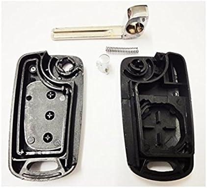 Ersatz Schlüsselgehäuse 3 Taste Autoschlüssel Schlüssel Fernbedienung Funkschlüssel Gehäuse Ohne Elektronik Für Hyundai Ks12 Auto