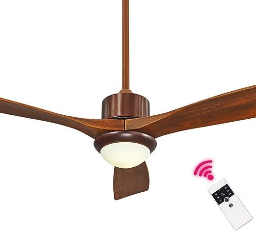 LAZ Luz de Ventilador LED de Techo Luz de Ventilador Industrial ...
