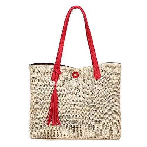 Bulk Simple Cross Beach Shoulder Hhgold LadiescolorearancioneRosso The Bag cjSq35RL4A