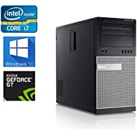Dell Gaming 990 Desktop Computer Optiplex, Intel Core i7 3.4 upto 3.8GHz 2600 CPU, NEW 1TB Solid State Hybrid, 8GB DDR3 Memory, WiFi, Windows 10 Pro, Nvidia GT710 2GB (Certified Refurbished)