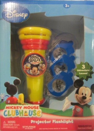 Mickey Mouse Clubhouse Road Rally Adventure Projector Flashlight