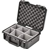 SKB Injection Molded Water-tight case 15 x 10 x 6 Inches with Dividers (3I-1510-6B-D)