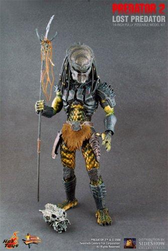 Predator 2 Sideshow Collectibles Hot Toys 14 Inch Movie Masterpiece Lost Predator