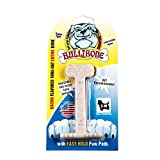 BULLIBONE Pet Products Bacon-Flavored Nylon Dog Chew, Small