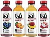 Bai Rainforest Variety Pack, Antioxidant Infused Beverages, 18 Fl. Oz. Bottles (Pack of 12)