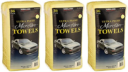 Kirkland Signature Ultra High Pile Premium Microfiber Towels (108-Pack)