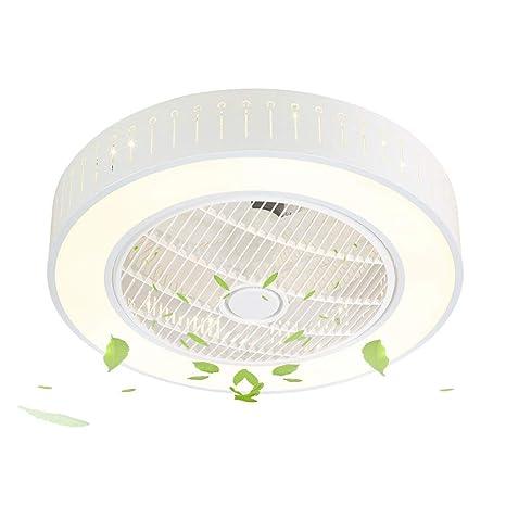 SJUN Ventiladores de techo con lámpara LED Luz de techo ...