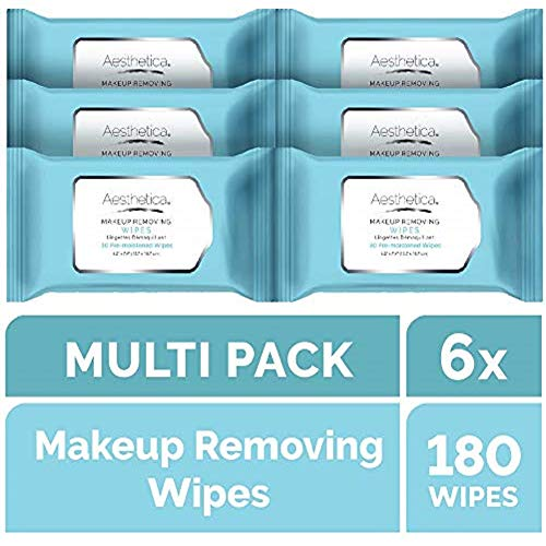 Aesthetica Makeup Removing Wipes - Facial &