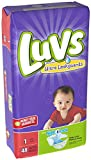 Health & Personal Care : Luvs Ultra Leakguards Newborn Diapers Size 1, 48 Count