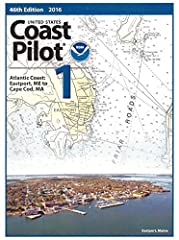 ***This is a navigational aid book, no charts*** *****New 49th Edition, 2019***** United States Coast Pilot 1: 49th Edition, 2019 - Atlantic Coast, Eastport, ME to Cape Cod, MA Covers the coasts of Maine, New Hampshire, and part of Massachuse...
