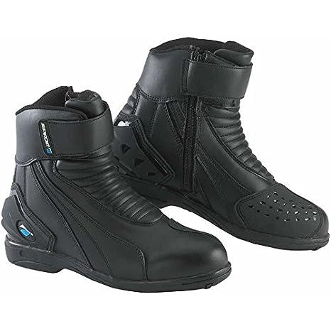 Spada ICON WP Motorcycle Sports Short Boots , Black New EC 37