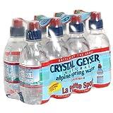 crystal geyser - Crystal Geyser Spring Sport, Pack of 8, 8-Ounce (Case of 4, 32 Bottles Total)
