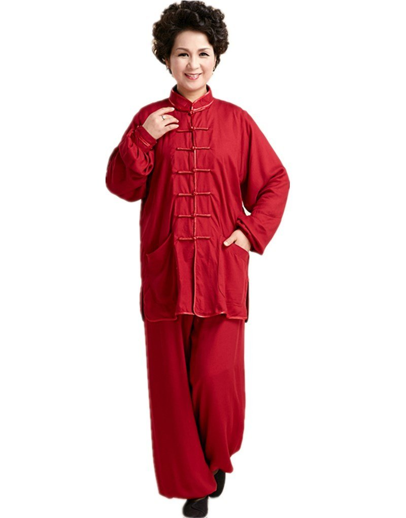 Shanghai Story Martial Arts Women's Tai Chi Uniform Cotton Kung Fu Suit WNS174