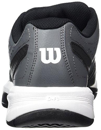 Wilson Rush Open 2.0 Iron Gate/Bk/Wh 7, Scarpe da Tennis Uomo, Grigio (Iron Gate/Black/White), 41 EU
