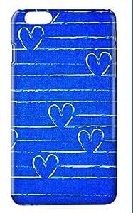 Funda carcasa corazones estampado corazon para Huawei P7 P8 P9 P10 P8LITE P9LITE P10LITE LITE PLUS Honor 5X 7 8 Mate S G8 GX8 NOVA PLUS plástico rígido